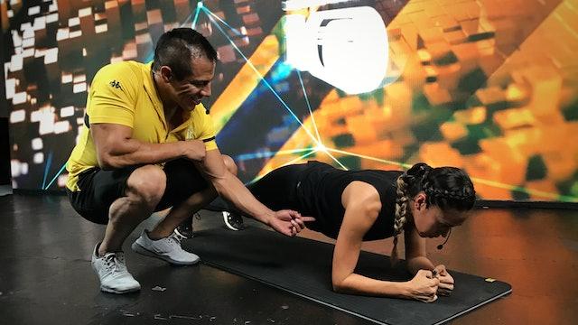 25 min I Quema de grasa I Ricardo Mendoza y Nancy Galicia I 16/06/21 - Part 2