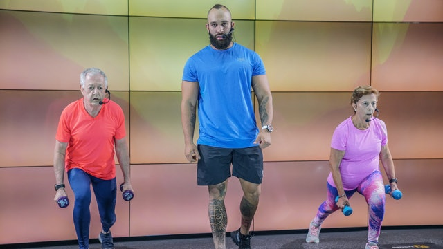 35 min | Entrenamiento de adulto mayor | Jorge, Lucho y Nena | 10/09/21