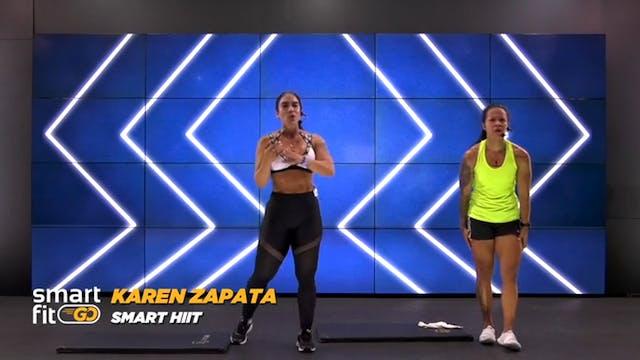 45 min   Quema de grasa   Karen Zapat...