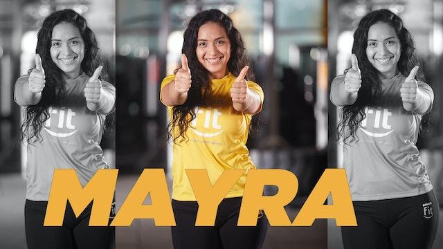 20 min | Mejora tu flexibilidad | Mayra Vásquez | 03/08/21