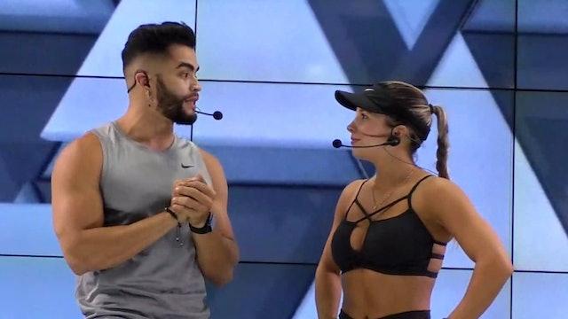 45 min | Entrenamiento funcional | Sebastián Parra y Valentina Vélez 9/03/21