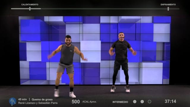 45 min | Quema de grasa | Rene Lizara...