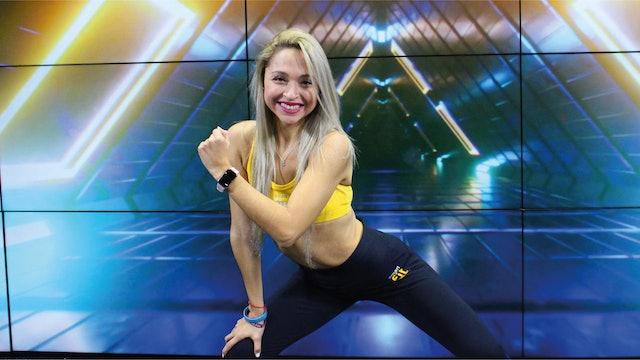 45 min | Quema calorías bailando | Karen Ruiz  | 03/09/21