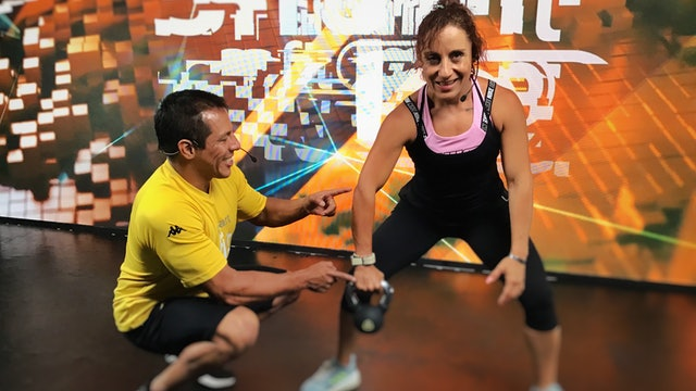 25 min I Quema de grasa I Ricardo Mendoza y Melissa Reyes I 05/07/21