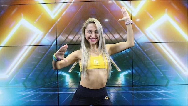 45 min   Quema calorías bailando   Karen Ruiz y Luis Gilbonio   23/09/21