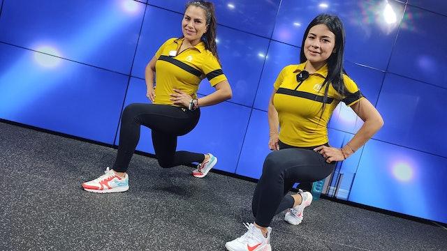 30 min | Glúteos y piernas de acero | Joa Mirang y Grecia Mendoza | 13/09/21