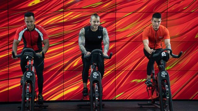 45 min | Cycling | Sam, Alejandro, Al...