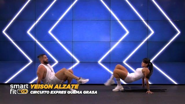 45 min | Quema de grasa | Yeison Álza...