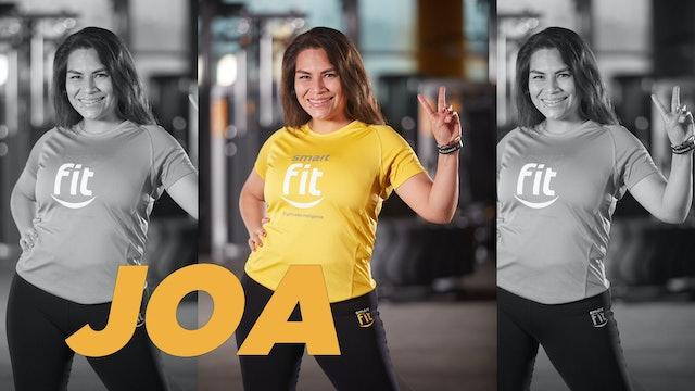 45 min | Quema calorías bailando | Joa Mirang y Catalina Loayza | 31/08/21
