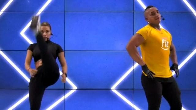 45 min | Entrenamiento de combate| Andy Cruz y Luisa Hernández 08/01/21