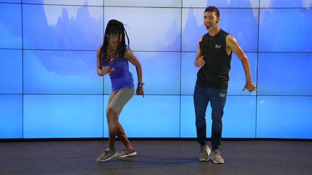 45 min I Quema calorías bailando I Juan Restrepo y Marieris Mosquera I 12/10/11