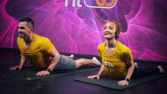 45 min I Yoga I Tzacil Cervantes y Da...