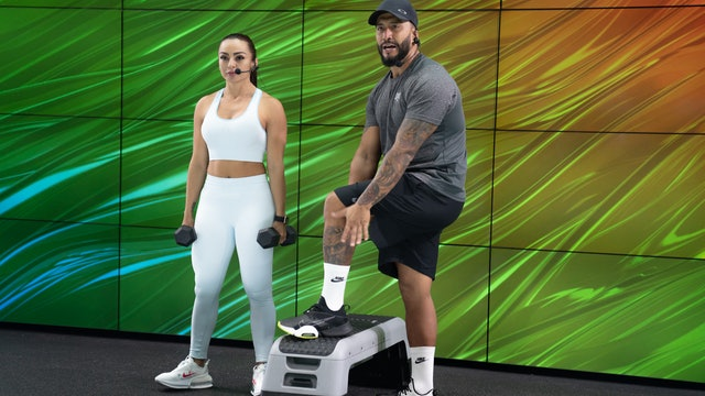 45 min | Entrena todo el cuerpo | Guillo Garcés y Paola Macias | 24/06/21
