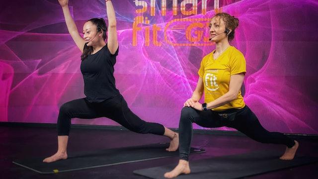 45 min I Yoga I Tzacil Cervantes y Mónica Cortés I 22/07/21