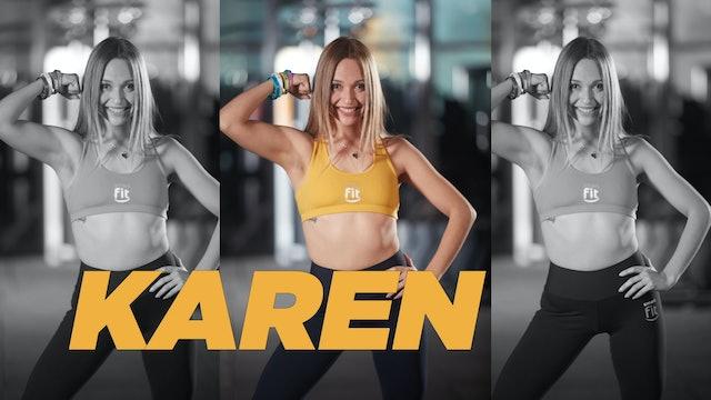 20 min | Mejora tu flexibilidad | Karen Ruiz | 26/06/21
