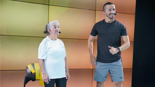 25 min I Entrenamiento para adulto mayor I Rene Lizarazo y Sonia I 22/10/21