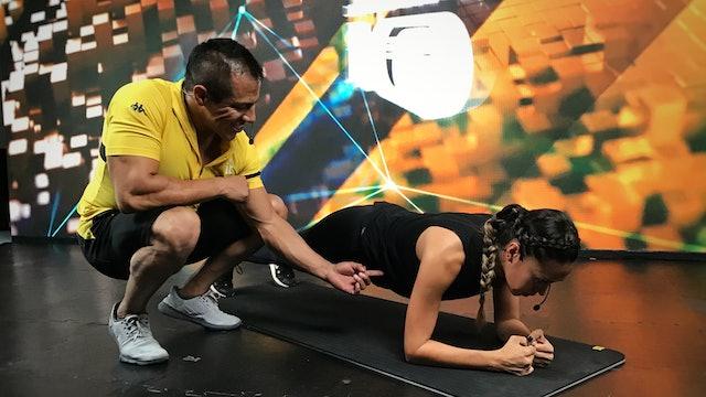 25 min I Quema de grasa I Ricardo Mendoza y Nancy Galicia I 16/06/21 - Part 1