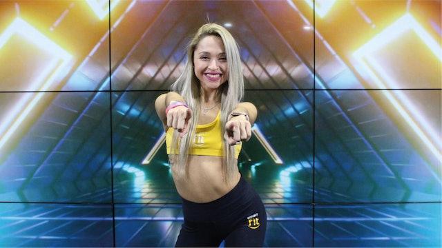 45 min   Quema calorías bailando   karen Ruiz y Julio Vilchez   24/09/21