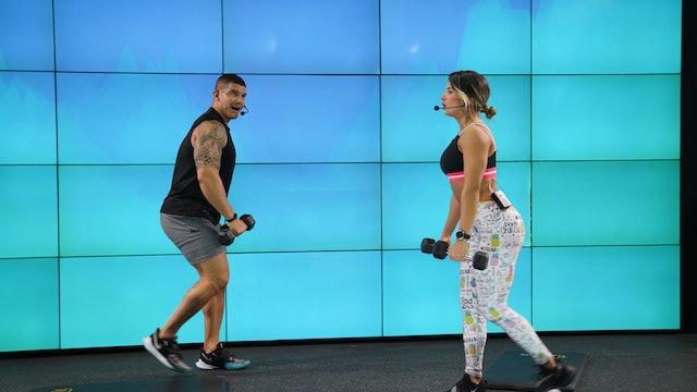 45 min | Entrena todo el cuerpo | Julio Becerra y Valentina Vélez | 04/08/21