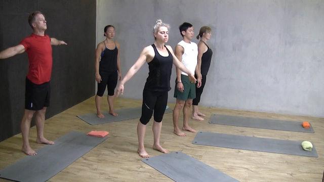 Pilates Class Sequence 02
