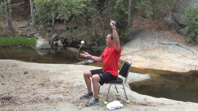BrainBall: Chair workout 5