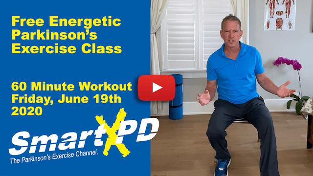 Energetic Live Parkinson's Exercise Class (Episode 2)
