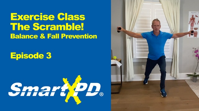 The Scramble! Fall Prevention and Balance Class: Episode 3