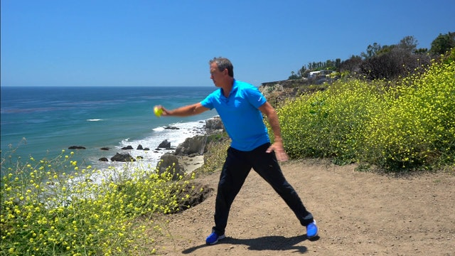 5 Minute Workout w Ball-El Matador Beach