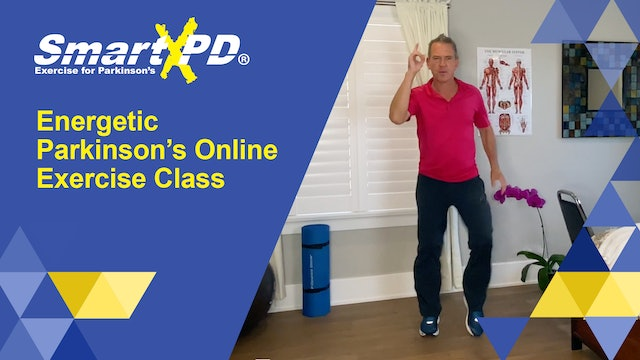 Energetic Live Parkinson's Exercise Class