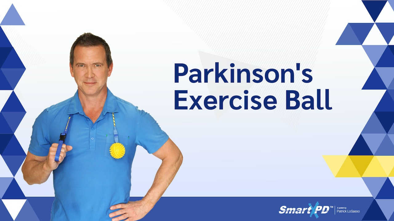Parkinson's Exercise Ball (Featuring the BrainBall)