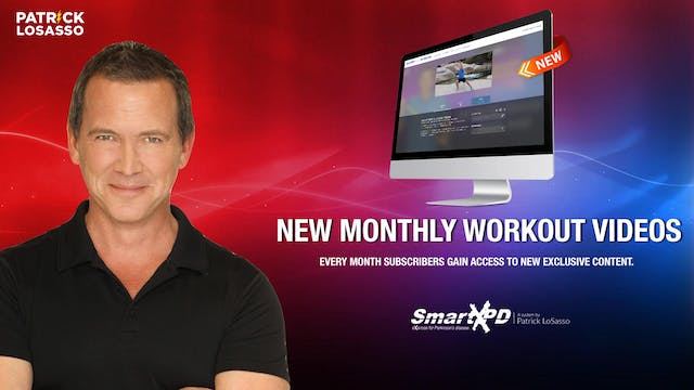 New Monthly Workout Exclusively Available to Subscribers