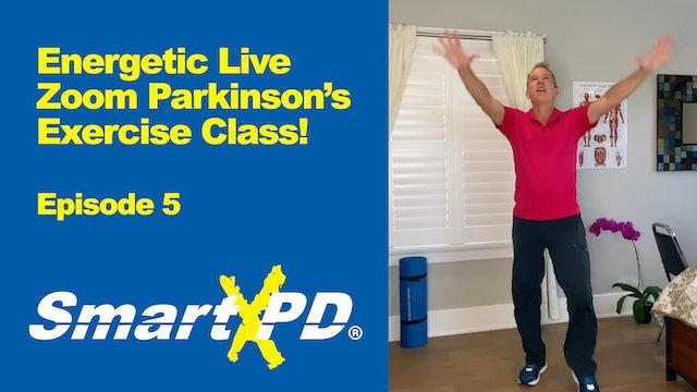 Energetic Live Parkinson's Exercise Class (Episode 5)