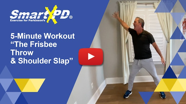 5 Minute Workout: The Frisbee Throw Routine with Coordination