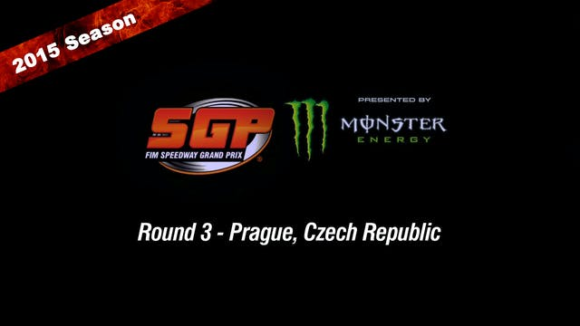 2015 CZECH REPUBLIC FIM SPEEDWAY GRAND PRIX Round 3