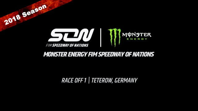 2018 Monster Energy FIM Speedway of Nations Race Off 1