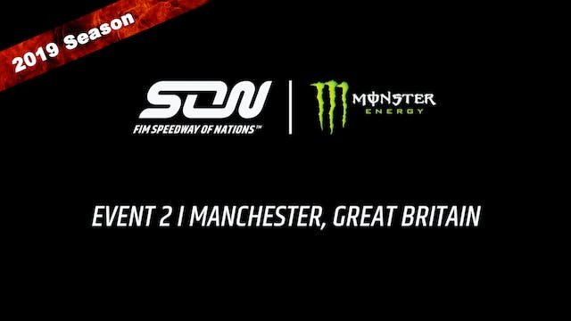 2019 MONSTER ENERGY FIM SPEEDWAY OF NATIONS RACE OFF 2