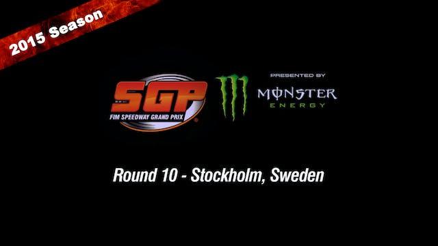 2015 TEGERA STOCKHOLM FIM SPEEDWAY GRAND PRIX Round 10