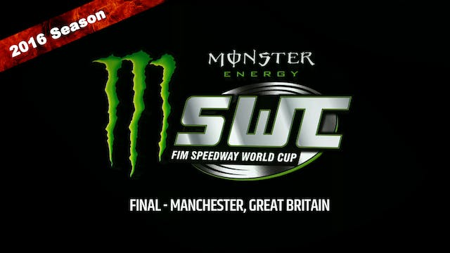 2016 Speedway World Cup Final Manchester