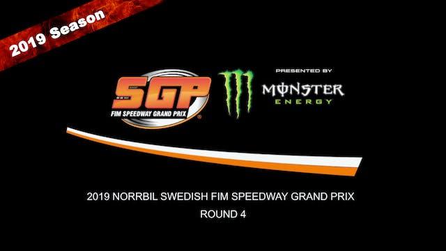 2019 NORRBIL SWEDISH FIM SPEEDWAY GRAND PRIX Rd 4