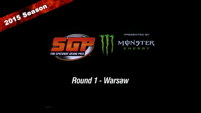 2015 LOTTO WARSAW FIM SPEEDWAY GRAND PRIX OF POLAND Round 1