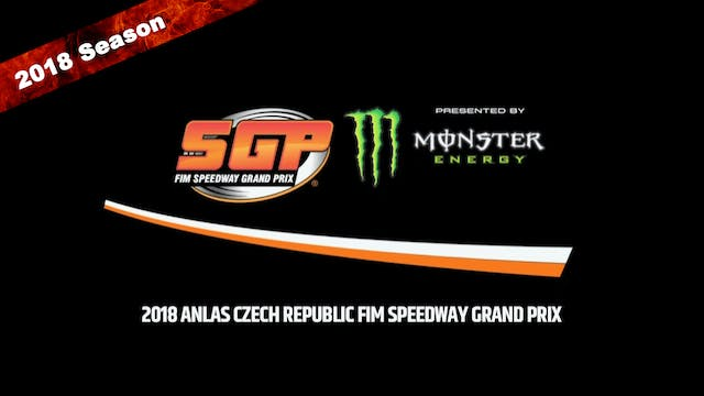 2018 ANLAS CZECH REPUBLIC FIM SPEEDWA...