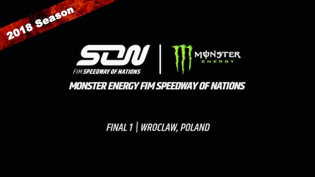 2018 Monster Energy FIM Speedway of Nations Final 1