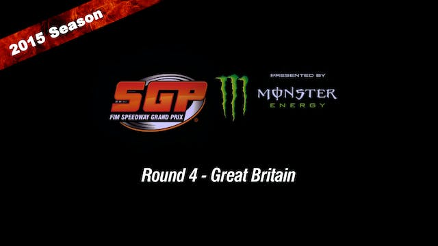 2015 ADRIAN FLUX BRITISH FIM SPEEDWAY GRAND PRIX Round 4