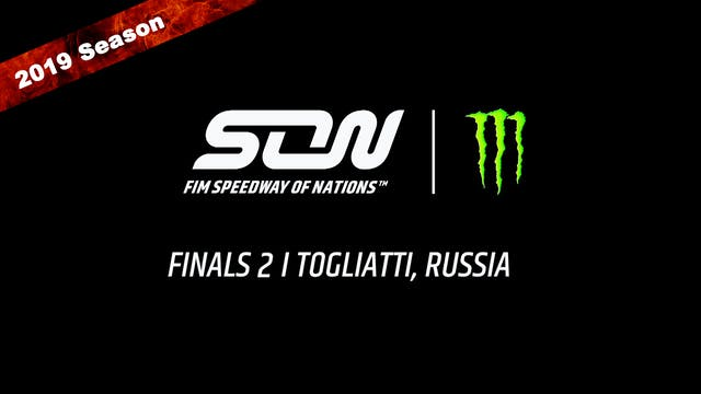 2019 MONSTER ENERGY  FIM SPEEDWAY OF NATIONS FINALS 2