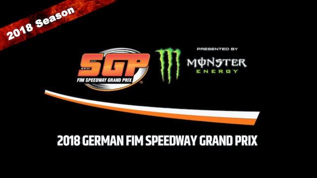 2018 GERMAN FIM SPEEDWAY GRAND PRIX R...