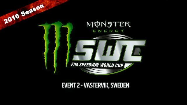 2016 Speedway World Cup Event 2 VASTERVIK