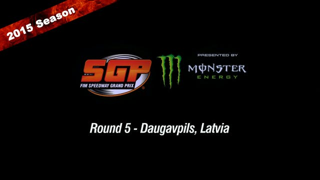 2015 RIETUMU BANK LATVIAN FIM SPEEDWAY GRAND PRIX Round 5