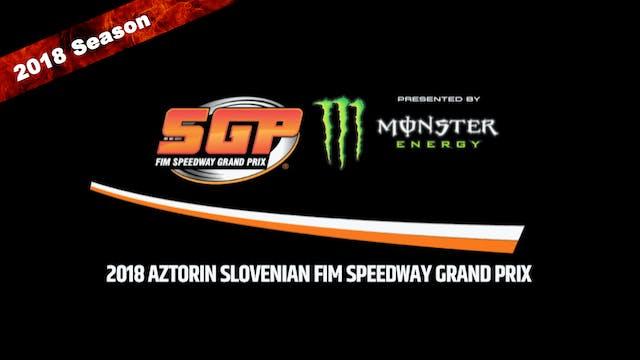 2018 AZTORIN SLOVENIAN FIM SPEEDWAY GRAND PRIX Round 8
