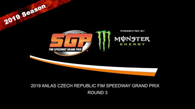 2019 ANLAS CZECH REPUBLIC FIM SPEEDWAY GRAND PRIX Rd 3