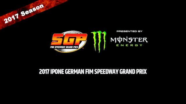 2017 IPONE GERMAN FIM SPEEDWAY GRAND ...